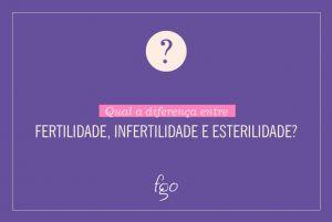 Diferença entre Fertilidade, Infertilidade e Esterilidade